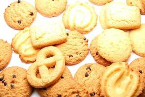 biscoito em fundo branco