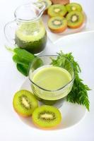 Smoothie verde foto