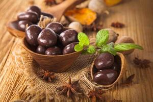 noz de chocolate foto