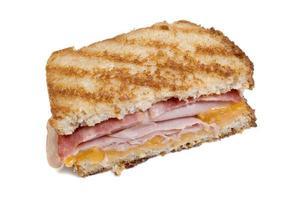 sanduíche de peru grelhado foto