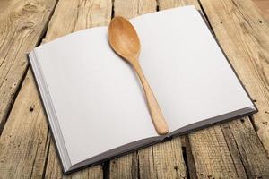 livro, cozinhar, cozinhar foto
