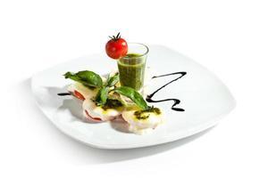 salada caprese foto