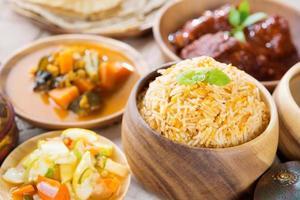 arroz biryani foto