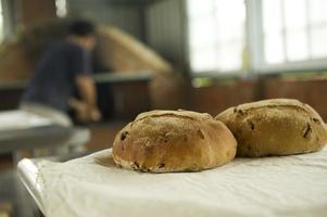 pão cozido foto