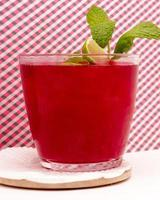 receita de bebida de pera espinhosa foto
