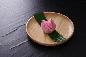 receita de cupcake cozido no vapor estilo tailandês foto