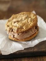 sanduíches de sorvete foto