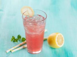 limonada de frutas foto