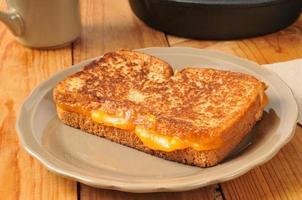 sanduíche de queijo grelhado foto