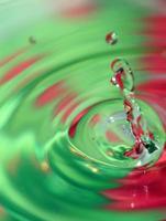 respingos de água