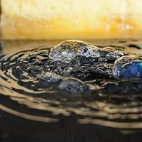 bolhas de água foto