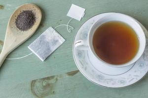 chá preto foto