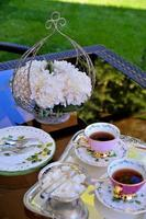hora do chá foto