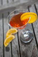 martini de laranja foto