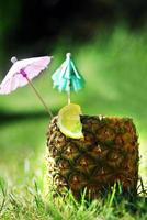 bebida de abacaxi foto