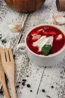 sopa borscht foto