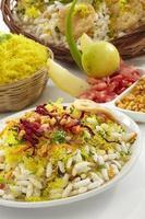 bhelpuri, comida de bate-papo, Índia foto