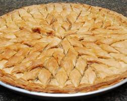 baklava turco doce foto