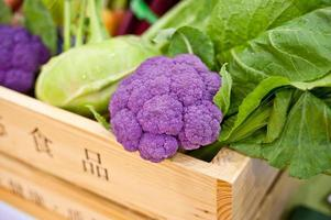 vegetais organícos foto