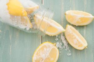picles de limão foto