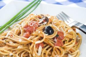espaguete puttanesca