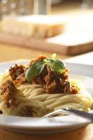 esparguete à bolonhesa foto