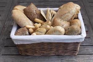 pão sortido