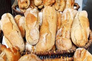 pão de fazenda foto
