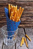 varas de pão foto