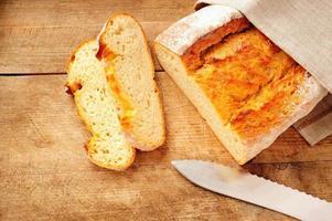 pão de trigo foto