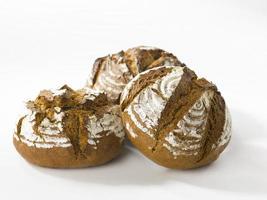 pães marrons foto