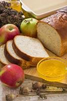 fatiado € ‹pão foto