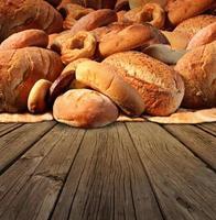 pão de padaria foto