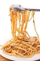 espaguete vongole foto