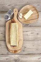 manteiga de pão e temperos foto