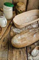 pão de fermento com cerveja foto