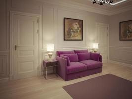 hall de entrada em estilo clássico foto