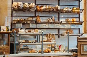 interior da padaria
