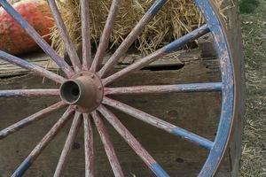 roda de vagão foto