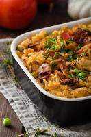 frango cajun com arroz foto