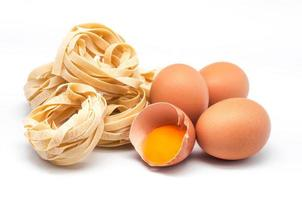 ninho de ovos massas italianas 2 foto