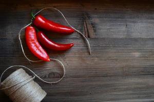 pimenta malagueta vermelha foto