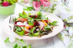 salada de beterraba foto