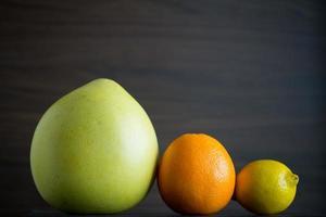 mistura de citros foto
