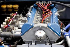 motor do carro foto
