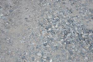 estrada de pedra, estrada rochosa, estrada de cascalho foto