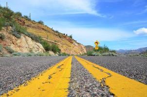 marcações de estrada foto