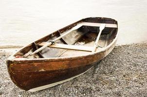 barco a remo velho