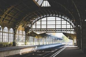 estação de trem foto