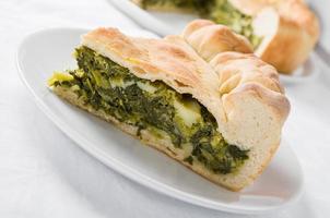 torta mediterrânea. foto
